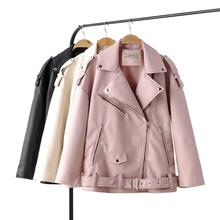 Jacket Women Motorcycle Coat Autumn Winter New HOT And Zipper Brand 3-Color Outerwear