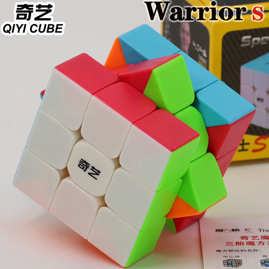 Magic Cube Puzzle QiYi XMD Warrior S 3x3x3 3x3 3*3*3 Stikerless Professional Speed Educationl Twist Wisdom Cube Gift Game Toys