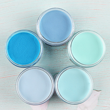 Dipping-Powder Nail-Art-Decorations-Supplies Nail-Extension Builder Manicure Blue 15g