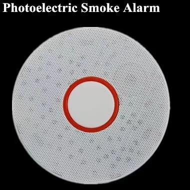 ZigBee Smart Home Smoke Detector Alarming Sensor Microwave / Infrared Detector Photoelectric Smoke Alarm