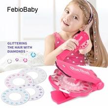 180 Gems Kit Bling Bling Deluxe Set Toy Makeup Play Glass Crystal Rhinestone Art Decoration DIY girls Hair Design Shoes Sticker