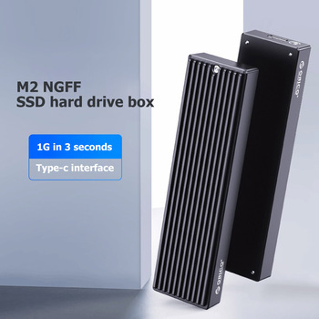 ORICO M2PF-C3 5Gbps SSD Enclosure Type-C M.2 NGEF SSD Mobile Enclosure USB3.1 External Solid State Drive Box Case for 2230 2242