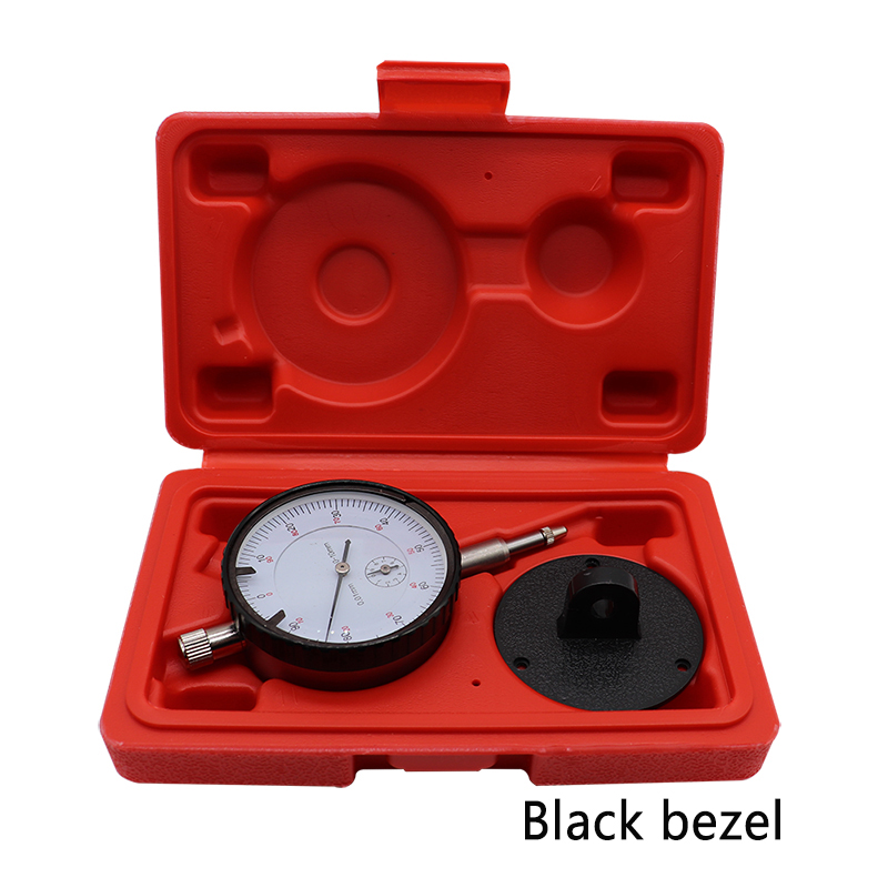 Dial Test Indicator 0.01mm Dial Gauge with Dovetail Rails Mount