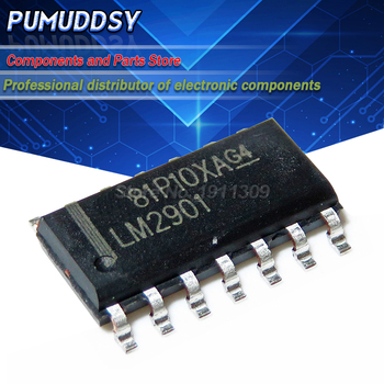 10PCS LM2901 LM2901DR LM2901DT SOP14 four voltage comparator image