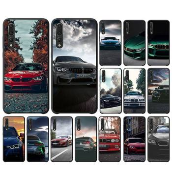 Blue Red Car For Bmw Phone Case For Huawei Mate10/30/30Pro Enjoy5/8Plus/9E Y6P/8S/9 Case image