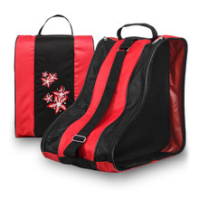 3 Layers Breathable Skate Carry Bag Case Skating Bag for Kids Roller Skates Inline Skates Ice Skates