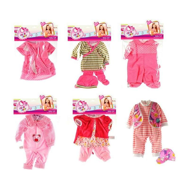 Baby Doll Costumes 20-30cm In Bag 6-ASS. Toy Store Articles Created Handbook
