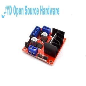 Image 3 - 1pcs L298N Motor Driver Controller Board Module Dual  H Bridge DC L298N Stepper Motor Driver for arduino