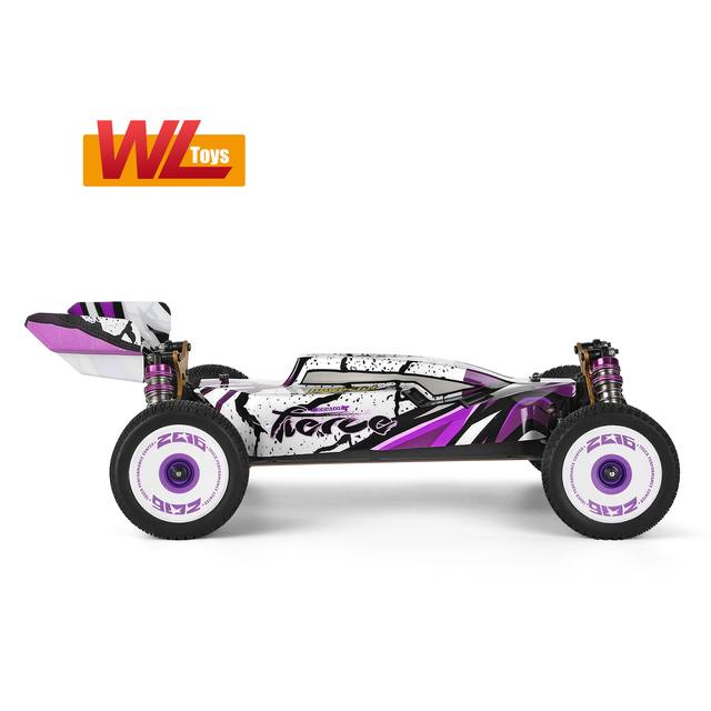 Wltoys 124019 High Speed Racing Car 60km/h 1/12 2.4GHz RC Car Off-Road Drift Car RTR 4WD Aluminum Alloy Chassis Zinc Alloy Gear 3