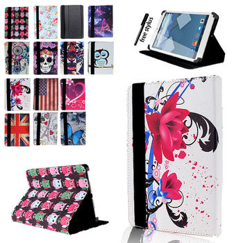 For Alcatel 1T /Alcatel 3T/Alcatel A3 /Alcatel Plus /Alcatel OneTouch Pixi 3 10 Inch High-quality PU Leather Tablet Case + Pen фото