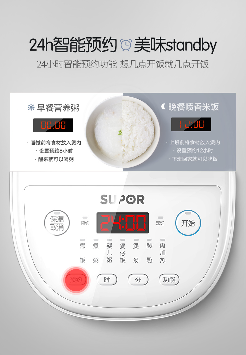 Rice Cooker Home Smart Mini Rice Cooker Single Small Dormitory 1-2 People 14