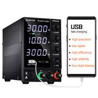 DC power supply adjustable 4 digit lab Bench power source 30V 10A 60V 5A AC switching Stabilized power supply Wanptek DPS3010U