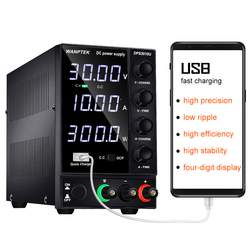 DC power supply adjustable 4 digit lab Bench power source 30V 10A 60V 5A AC switching Stabilized power supply Wanptek DPS3010U