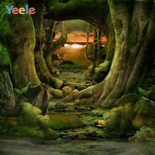 Yeele Dreamy Forest Backdrop Newborn Baby Shower Kids Birthday Photography Background For Photo Studio Photocall Photophone