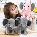 XINI горячая Распродажа 25 см, Оригинальные Плюшевые игрушки, слон, Хамфри, чоо экспресс, мягкие набивные куклы-животные, подарок на день рожден...