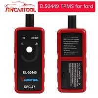 Accesorios de coche OBD2 herramienta de diagnóstico EL Monitor de presión de neumáticos para automóvil 50449 Sensor EL50449 herramienta de activación TPMS para Ford Flex/Edge