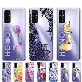Перейти на Алиэкспресс и купить Чехол для HONOR 30 premium, мягкий силиконовый чехол для Huawei Honor 30 Pro + чехол для телефона HONOR 30 Pro Plus, чехол-бампер для Huawei Honor 30 Pro, чехол для телефона, ч...