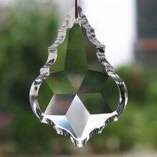 Прозрачное стекло люстры кристаллы лампы Призмы детали Висячие капли Подвески 38 мм L29K