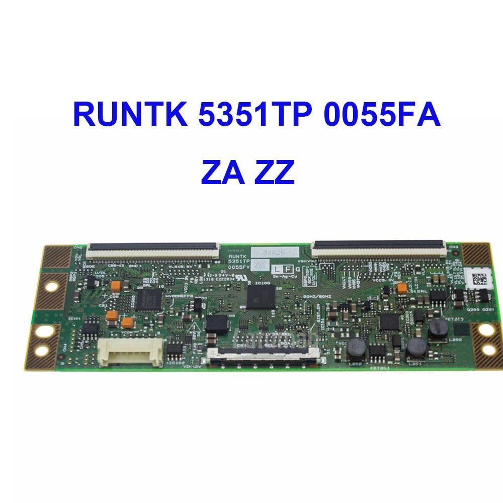 Latumab Original T-Con Logic Board RUNTK 5351TP 0055FV ZA ZZ   For LCD LED TV Controller Board  Logic Board