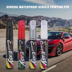 Car Touch Up Pen Set Car Paint Surface Repair Scratch Repair Paint White Gray Black Red Mixed Color Paint Pen