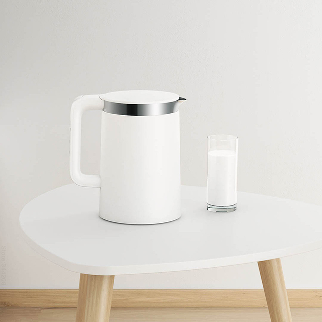 New XIAOMI MIJIA Electric Kettles Pro Kitchen Appliances Electric Water Kettle Teapot MIhome Smart Temperature Constant samovar 4