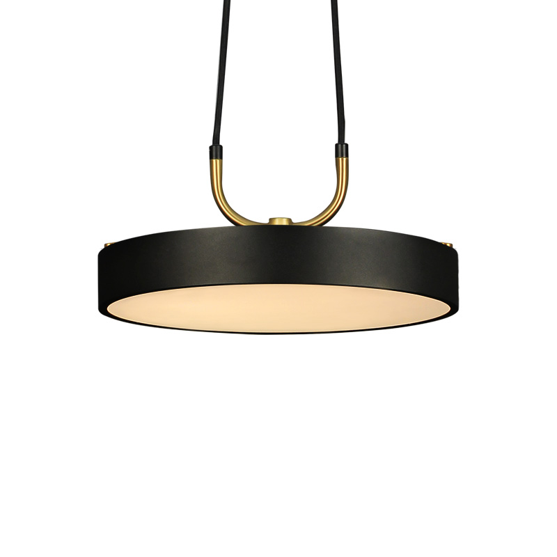 Aisilan minimaliste pendentif LED lumière style nordique cylindrique moderne pour salle à manger café bar personnalité suspension - 6