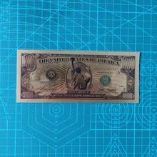 10pcs/set Statue of Liberty 1 Million Dollar Bill Gold Banknotes Antique 24k Gold Plated Note USA Souvenir Home Collection liberty home кофейный столик duval gold