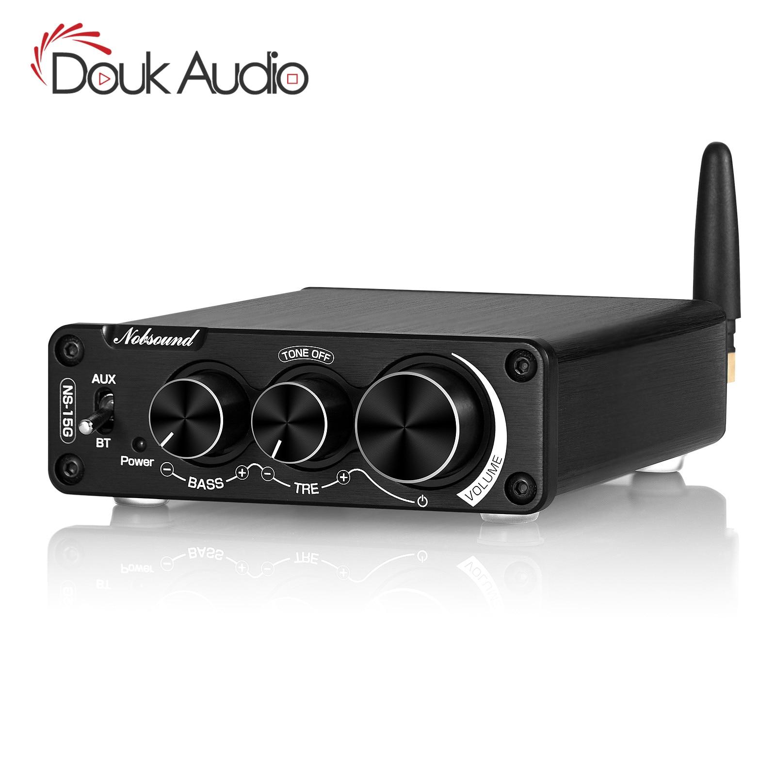 Nobsound Mini TPA3116 Dijital ses amplifikatörü HiFi Bluetooth 5.0 D Sınıfı Stereo Güç Amplifikatörü 100W * 2
