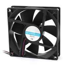 90mm x 25mm 9025 2pin 12V DC Brushless PC Case CPU Cooler Cooling Fan(China)