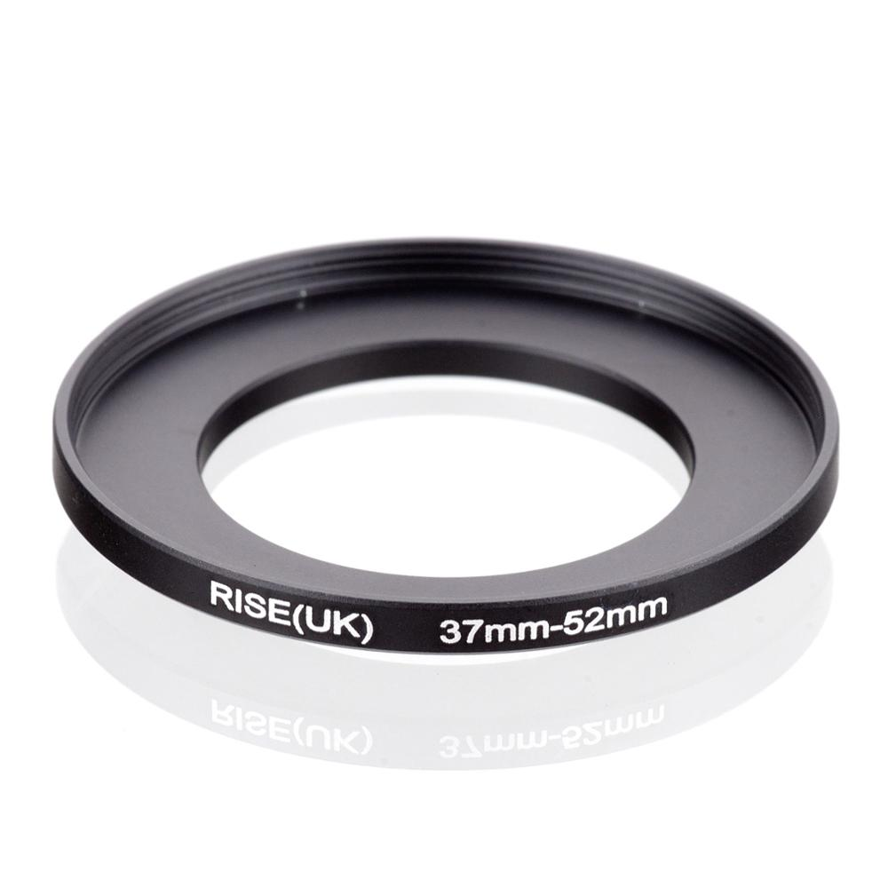 RISE(UK) 37mm-52mm 37-52 Mm 37 To 52 Step Up Filter Ring Adapter