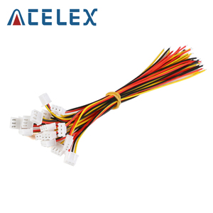 10PCS XH2.54 2/3/4/5/6 Pin Pitch 2.54mm Wire Cable Connector XH Plug Male & Female Battery Charging Cable 200MM Length 26AWG