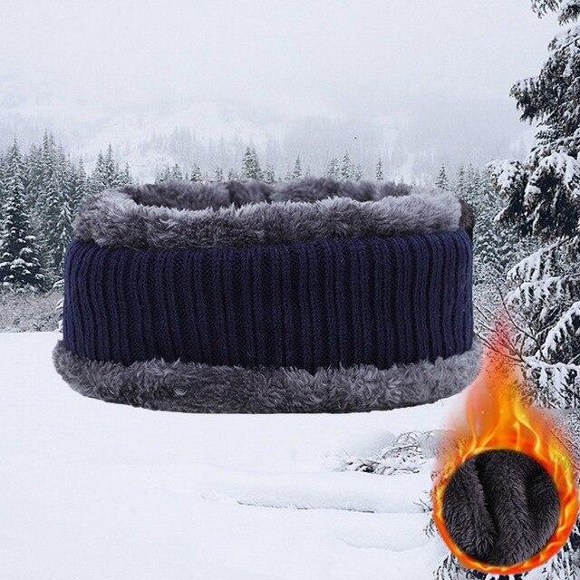 Winter Hats For Men Skullies Beanie Hat Winter Cap Men Women Wool Scarf Caps Set Balaclava Mask Gorras Bonnet Knitted Hat 2020 5