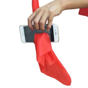 1 zestaw magiczne sztuczki szalik przez telefon zbliżenie sztuczki śmieszne jedwab przez telefon zabawki do sztuczek dla magów Gag zabawki rekwizyt na imprezę #40 tanie i dobre opinie AUKUK Other CN (pochodzenie) 4-6y 7-12y 12 + y Unisex Jeden rozmiar Special prop film ŁATWE DO WYKONANIA Beginner Dla magików