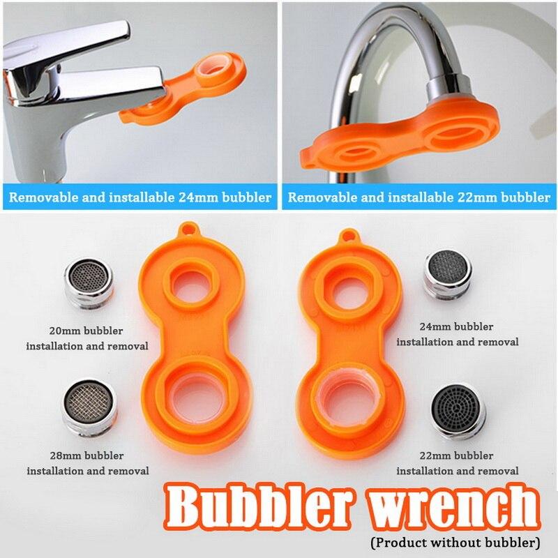 1pc plastic faucet aerator repair kit replacement tool spanner for faucet aerator spanner wrench sanitary ware tools 2020