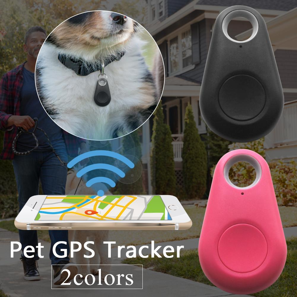 Smart Dog Bluetooth Locator Pet GPS Tracker Anti-Lost Alarm Remote Selfie Shutter Release Automatic Wireless Tracker For Pets
