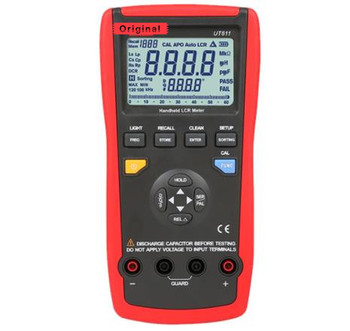 UT611 Handheld High Precision LCR Digital Bridge Tester Bridge Table Capacitance Meter Resistance Frequency Testers Gift  - buy with discount