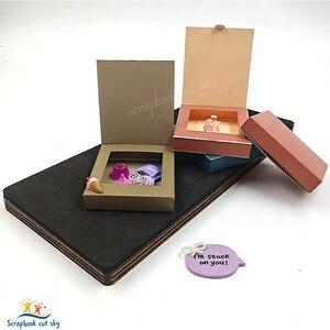 Image 5 - Caixa de molho de chocolate muyu corte morrer novos dados de corte de madeira do molde para scrapbooking