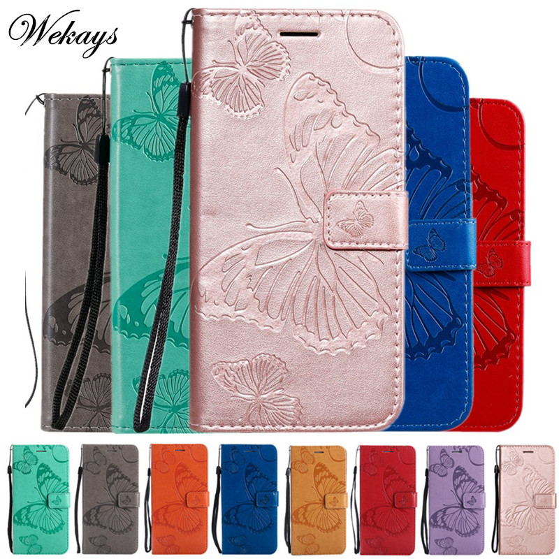 Wekays <font><b>Cover</b></font> For Coque <font><b>Huawei</b></font> Honor 20 Pro Cartoon Butterfly Leather Fundas <font><b>Case</b></font> For <font><b>Huawei</b></font> Honor20 Pro <font><b>Nova</b></font> <font><b>5T</b></font> <font><b>Cover</b></font> <font><b>Case</b></font> Shell image