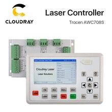 Trocen AWC708S Co2 лазерный контроллер системы для лазерной гравировальная и режущая машина замена AWC708C Lite Ruida Leetro