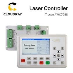 Trocen AWC708S Co2 система лазерного контроллера для лазерной гравировальная и режущая машина замена AWC708C Lite Ruida Leetro