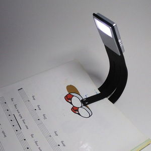 Image 3 - LED Reading Book Light With Detachable Flexible Clip USB Charging Light for Kindle e book Brightness Adjustable Reading Lamp