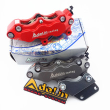 Universal Motorbike Brake Caliper 6 Piston Forged Aluminum  Adelin Adl-06 For Honda Yamaha Motorcycle Dirt Bike Scooter Modify