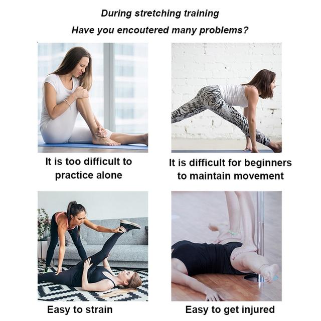 3 Bar Leg Stretcher Adjustable Split Stretching Machine Stainless Steel Home Yoga Dance Exercise Flexibility Training Equipment 2