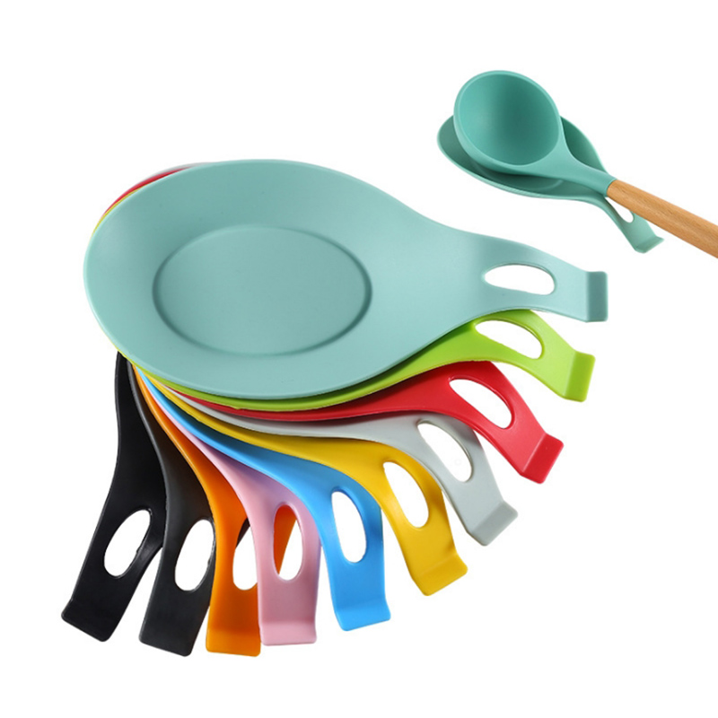 Kitchen Tools Heat Resistant Silicone Put A Spoon Mat Insulation Mat Placemat