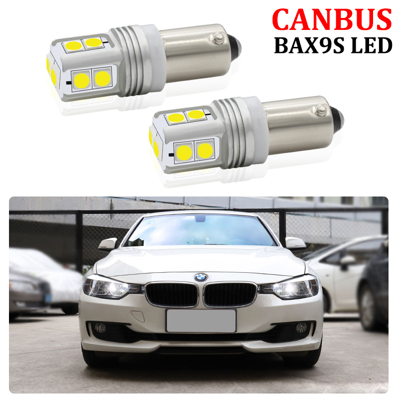 CANBUS Error Free BAX9S H6W Sidelight <font><b>LED</b></font> Bulb For Volkswagen VW AUDI BMW F20 F21 F22 F23 F87 F30 <font><b>F31</b></font> F34 F80 <font><b>LED</b></font> Parking Lights image