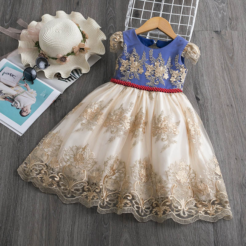 H2a2a41f03d104b65b5b9ec083c8a6446F Girls Dress Christmas Kids Dresses For Girls Party Elegant Princess Dress For Girl Wedding Gown Children Clothing 3 6 8 10 Years