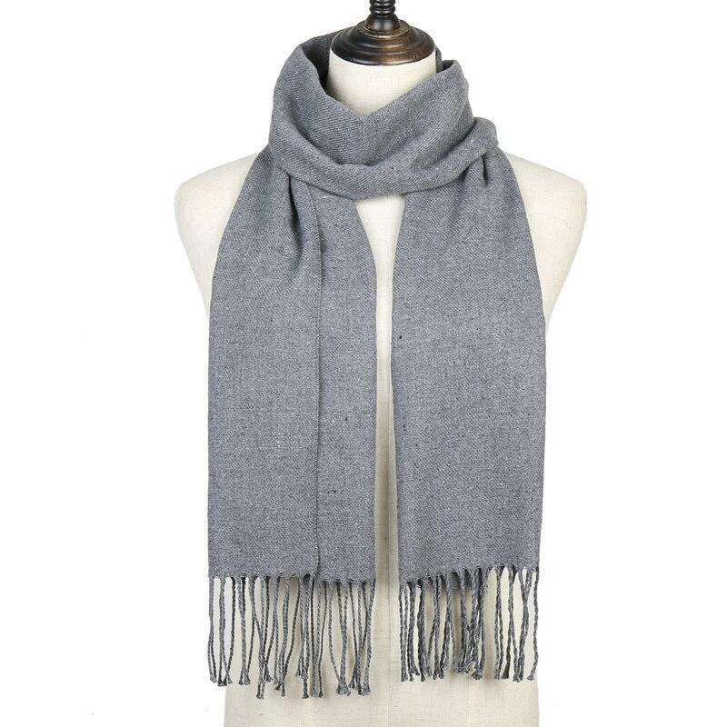 New 2020 Women Scarf Warm Winter Cashmere Scarves Neck Shawls For Lady Female Foulard Pashmina Bandana Casual Echarpe
