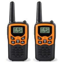 Портативная рация VHF/UHF446.00625 446,9375 МГц Двухдиапазонная двухсторонняя рация портативная рация автоматическая функция скворча