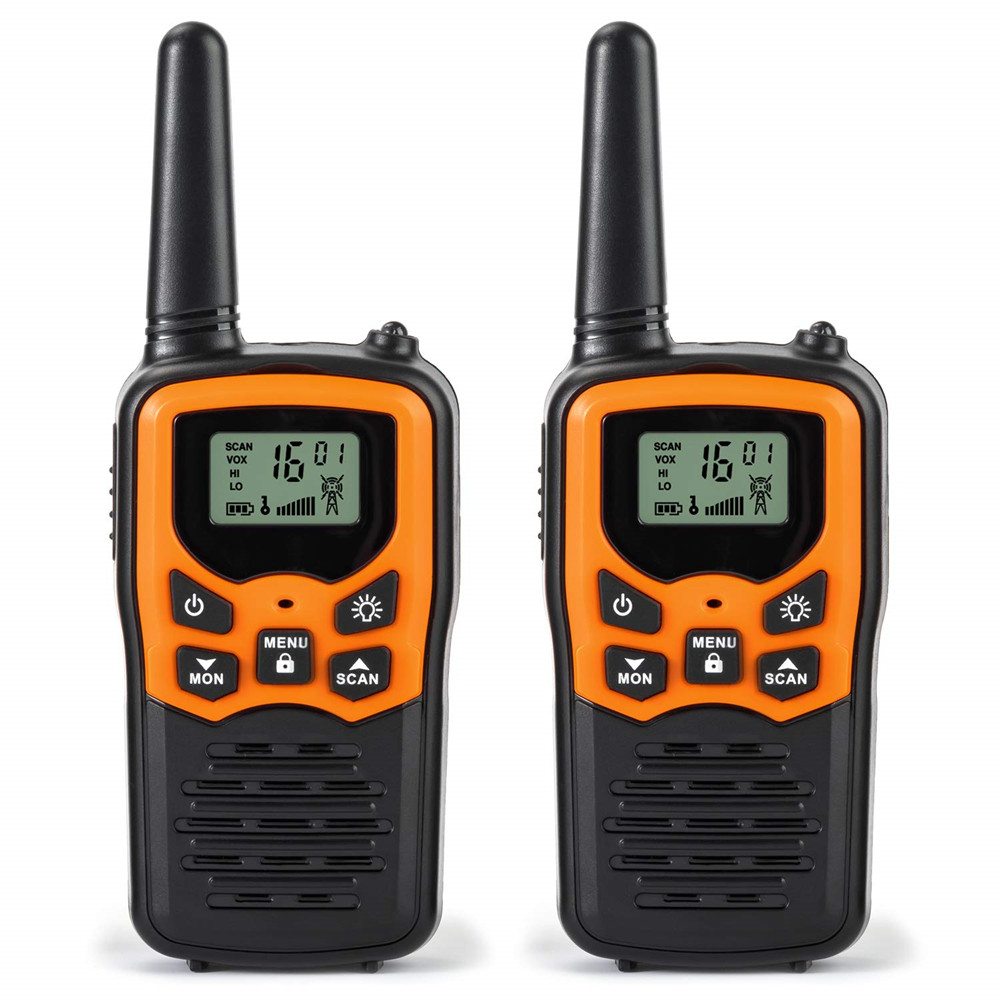 Walkie Talkie VHF/UHF446.00625 446.9375MHz Dual Band Two Way Radio  Portable Walkie Talkie Automatic Squelch Function