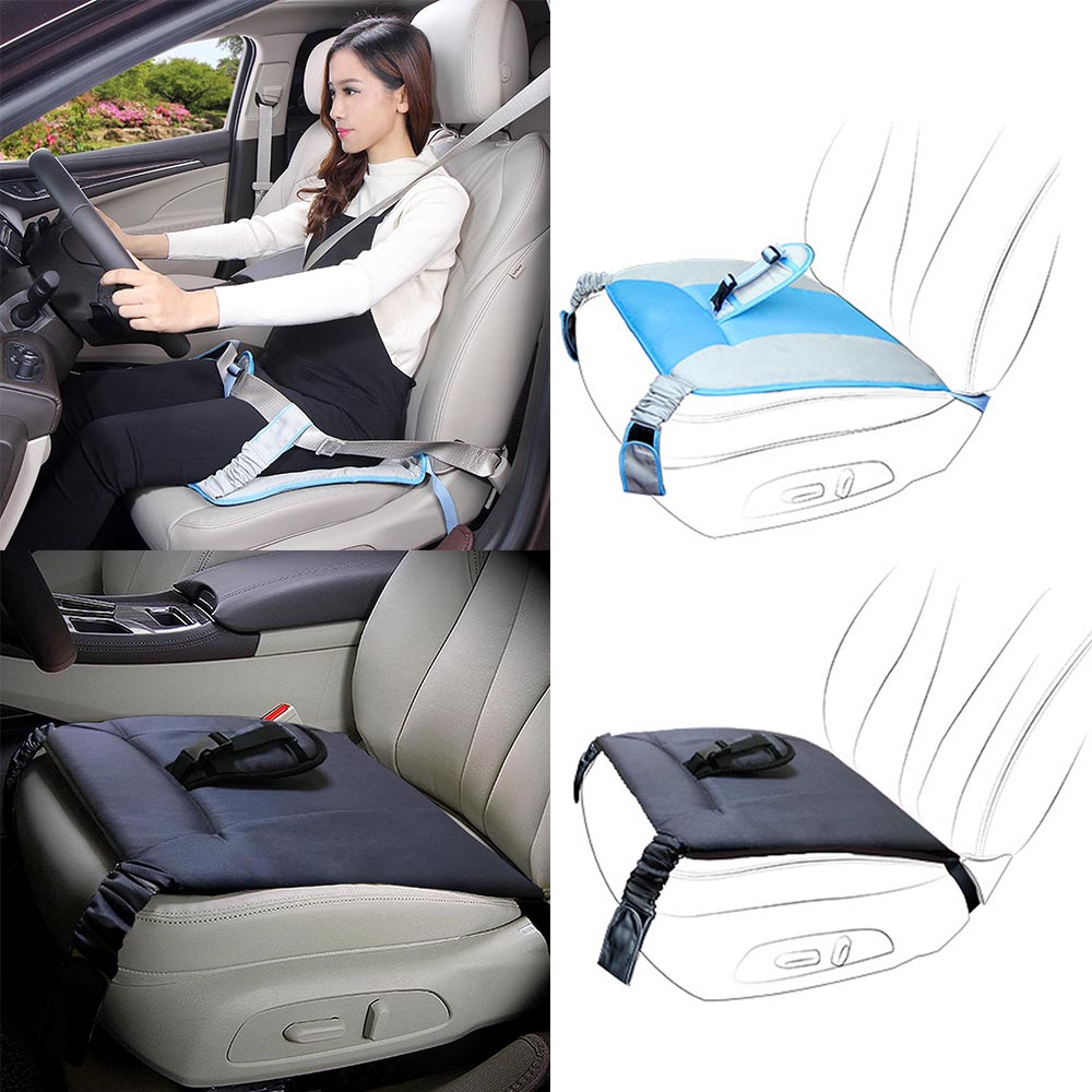 Soft Breathable Adjustable Maternity Bump Belt Car Protection Seat Cushion Cover Pad Car Safety Belt Cushion For Pregnant Women